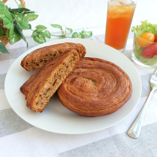 低糖質デニッシュプレーン 18個入(パン)〜天然酵母パネトーネ種使用〜 賞味期間50 日
