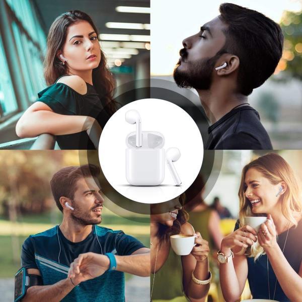Bluetooth イヤホン ワイヤレスイヤホン bluetooth5.0 ワイヤレス イヤホン 高音質 iphone Android ブルートゥース イヤホン 両耳 スポーツ 父の日 プレゼント|comomo-1s|11