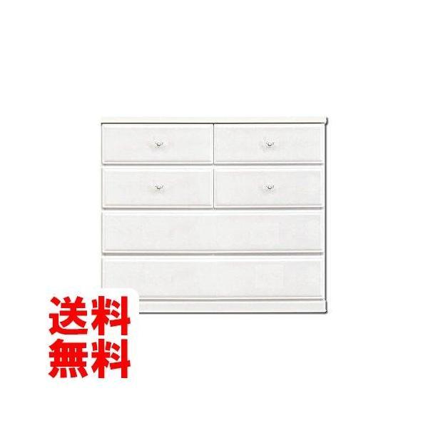アルファタカバ オシャレなママ必見のキュアセレクトシリーズ 100cm幅4段ホワイト取っ手ハートクリア