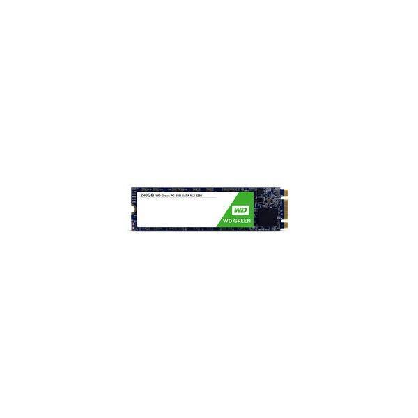 WESTERN DIGITAL WD Green SSD SATA6Gb/s 240GB M.2 2280 3DNAND WDS240G2G0B 目安在庫=○