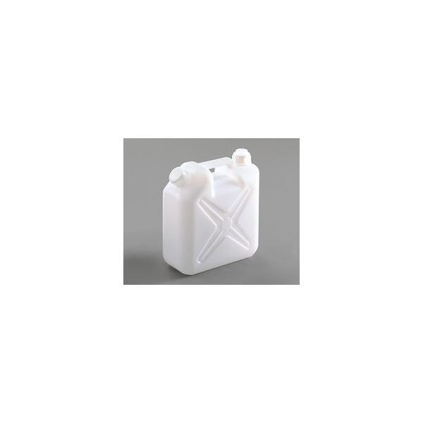 アズワン ポリタンク 10L廃液缶 ふたつ口 (1個) 目安在庫=○