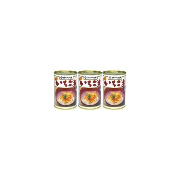 加久の屋 青森の味!ウニとアワビを使用した潮汁 元祖 いちご煮 415g【3個】 目安在庫=△