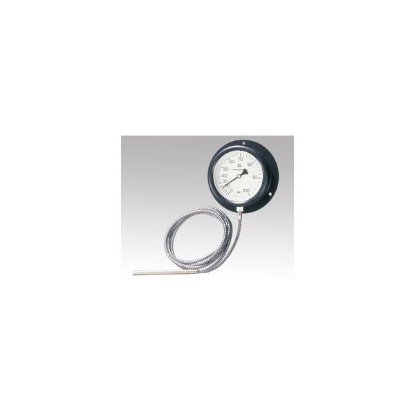 佐藤計量器製作所 壁掛け式隔測温度計 0〜100℃ (1台) 目安在庫=△