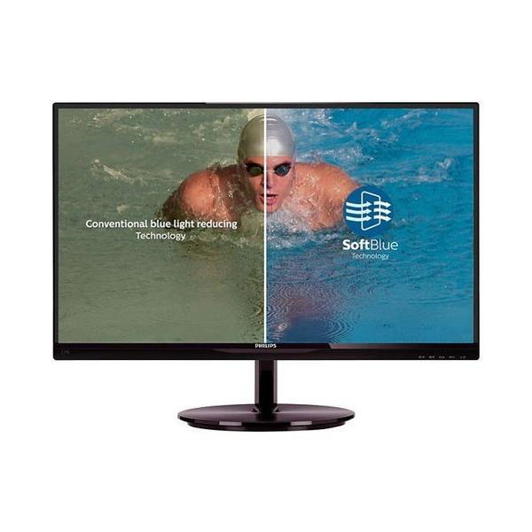 パソコン モニター 液晶モニタ ディスプレイ フィリップス PHILIPS 234E5EDSB/11 23インチ ブラックチェリー ブラック ワイド パソコン用ディスプレイ、モニター|compro