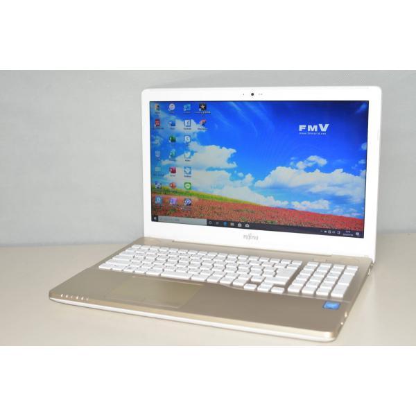 <title>中古良品 ノートパソコン 最新Windows10+office2016 大容量HDD1TB 富士通 AH42 A3 Celeron 4GB 日本未発売 無線 DVDRW HDMI 便利なソフト多数</title>