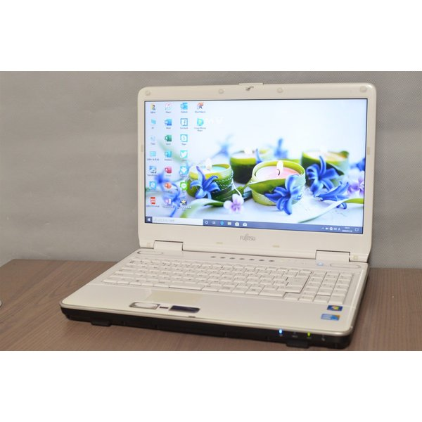 <title>中古ノートパソコン スーパーセール期間限定 最新Windows10+office 爆速SSD240GB 富士通 FMV-BIBLO NF G70 i5-430M 4GB ブルーレイ USB3.0 HDMI 便利なソフト多数</title>