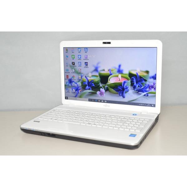 <title>中古ノートパソコン 最新Windows10+office 富士通 AH30 送料込 L CELERON-1005M 大容量HDD500GB 4GB 15.6インチ 無線内蔵 HDMI 便利なソフト多数</title>
