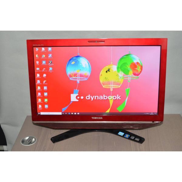 <title>中古良品 一体型パソコン Windows10+office 東芝 D731 T7ER core i7 2670M 大容量HDD2TB 4GB ブルーレイ 無線 WEBカメラ 大人気! 23インチ</title>