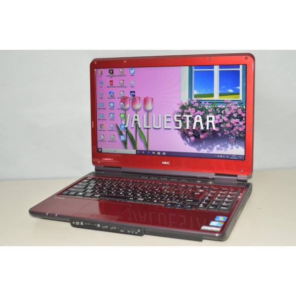 中古ノートパソコン Windows10+office 大容量HDD640GB NEC LL550 W core i3 DVDマルチ 無線 4GB テンキー 便利なソフト HDMI 15.6インチ ◇限定Special Price 受注生産品