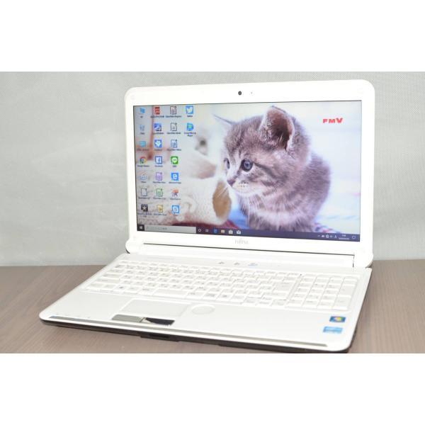 <title>最新Windows10+office 新品爆速SSD250GB 富士通 AH54 D 高性能 人気商品 第二世代i3 15.6インチ 無線内蔵 4GB USB3.0 HDMI DVDRW 便利なソフト多数</title>