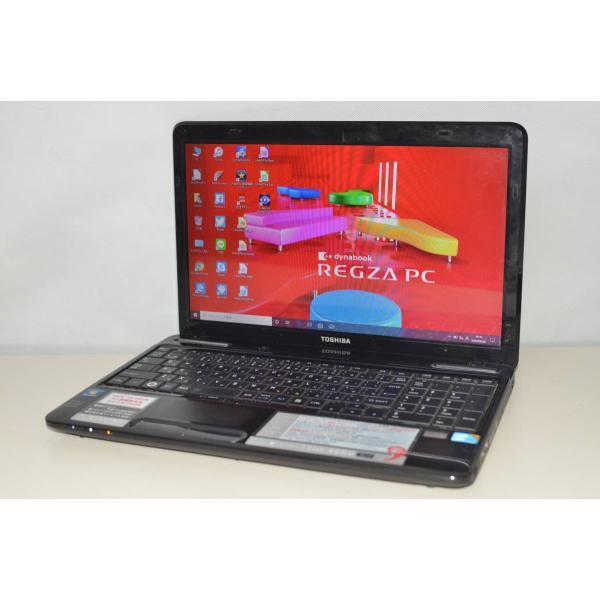 <title>中古ノートパソコン Windows10+office 大容量HDD640GB 東芝Dynabook T350 46BB 高性能core i5 4GB 税込 15.6インチ DVDRW 無線内蔵 便利なソフト</title>