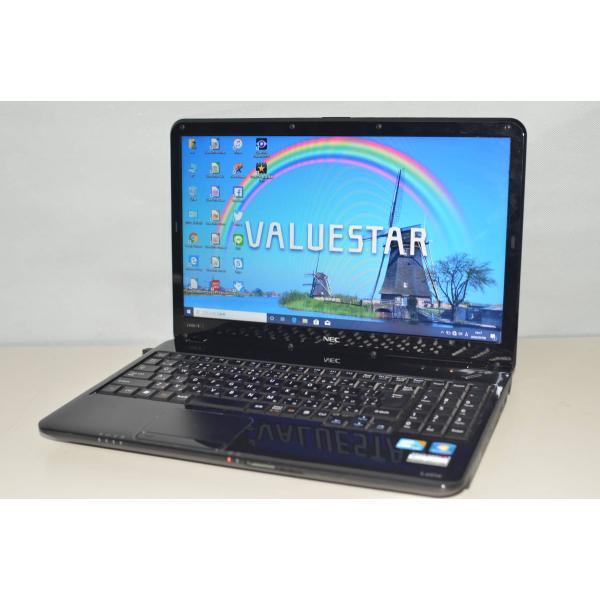 <title>中古ノートパソコン Windows10+office 大容量HDD1TB NEC 秀逸 LS550 B core i5 4GB 15.6インチ DVDマルチ HDMI 無線 テンキー 便利なソフト</title>