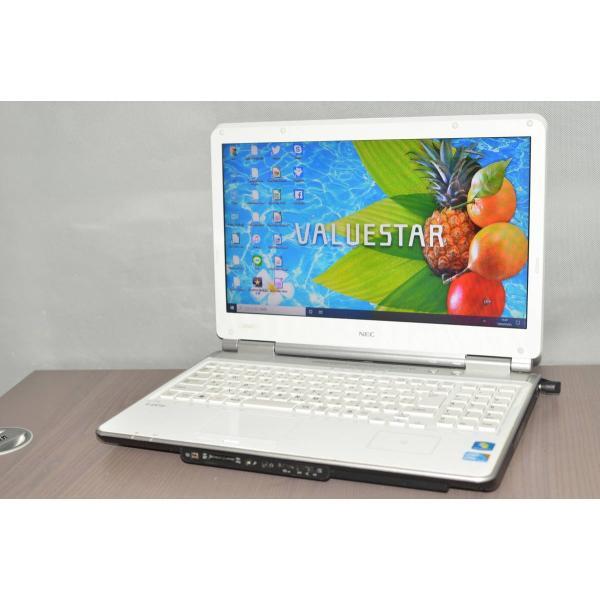 中古ノートパソコン Windows10+office 大容量HDD750GB NEC LL750 C 高速 ブルーレイ i5-460M 15.6インチ 便利なソフト HDMI 中古 メーカー在庫限り品 4GB USB3.0