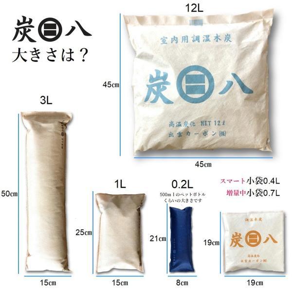 除湿剤 炭 出雲屋 炭八 大袋4袋セット 口コミ 反響 湿気取り 除湿 暑さ 対策 グッズ 室内用 出雲屋炭八 結露対策 消臭剤 湿度 下げる 快適 調湿|con-nect|15