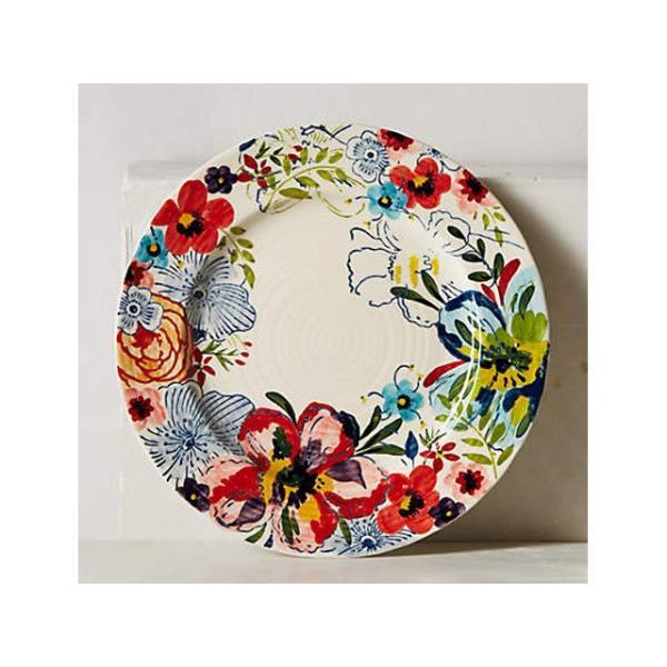 アンソロポロジー 花柄 ディナープレート&ケーキプレート 2枚セット Anthropologie Sissinghurst Castle サラダプレート サイドプレート 大皿|conceptstore|04
