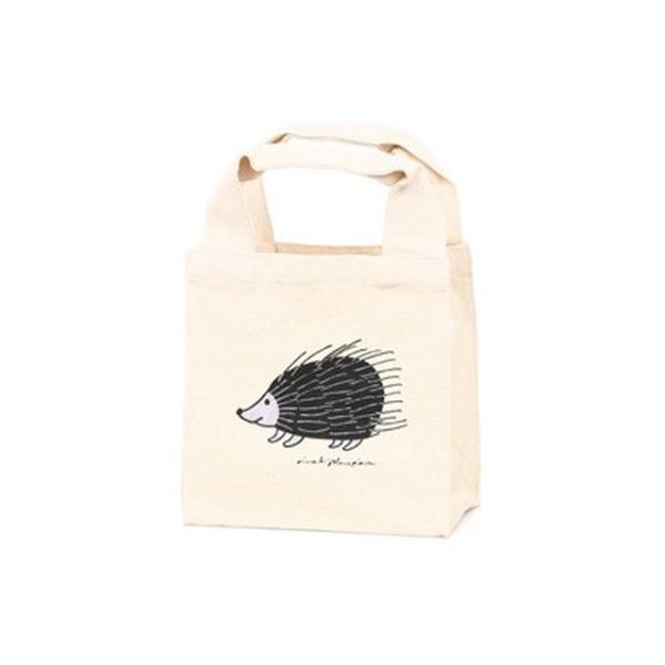 【ポスト便可】リサラーソン ランチトートバッグ ハリネズミ コットン lisa larson カバン かばん 鞄 lisa larson|conceptstore