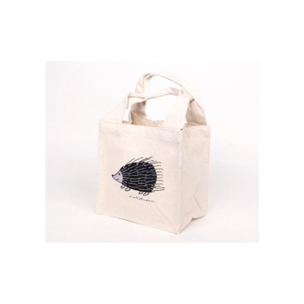 【ポスト便可】リサラーソン ランチトートバッグ ハリネズミ コットン lisa larson カバン かばん 鞄 lisa larson|conceptstore|02