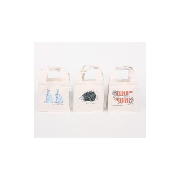 リサラーソン ランチトートバッグ ハリネズミ コットン lisa larson カバン かばん 鞄 lisa larson【ポスト便可】|conceptstore|03