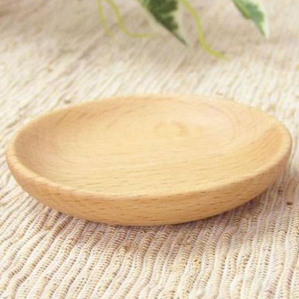 木のお皿 豆皿 まめざら 小皿 MUTE ビーチ/メープル 木の食器 ナチュラルデザイン|conceptstore