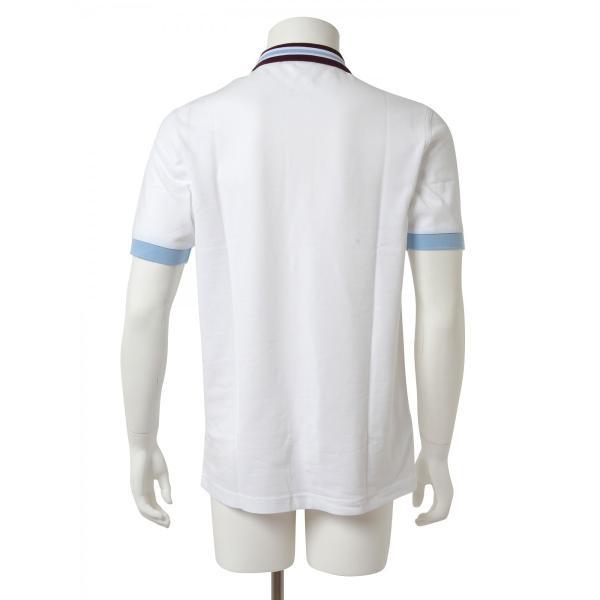 FRED PERRY フレッドペリー メンズ 半袖 ポロシャツ M9521 100 ホワイト|concerto|04