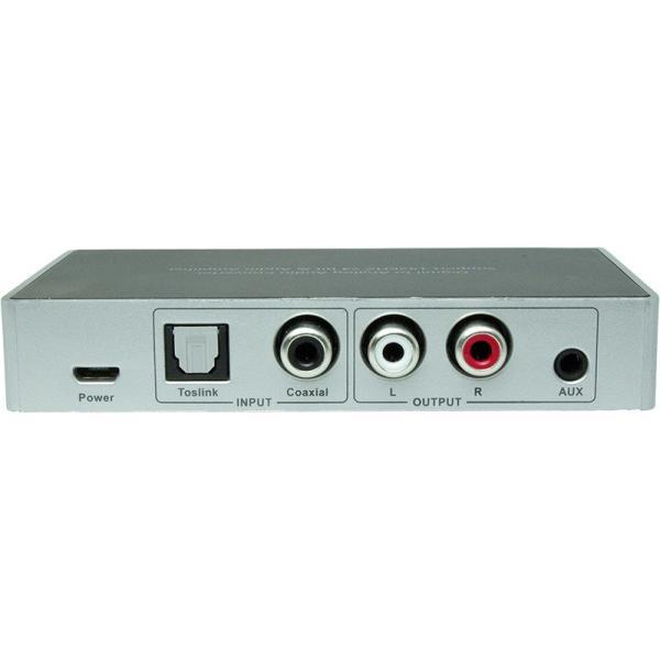 Amulech オリジナル  AL192-1C1ODAC  192kHz/24bit対応、光/同軸デジタル入力、電子ボリューム採用のプリアンプおよびヘッドホンアンプを搭載のDAコンバーター|coneypoint-store|03
