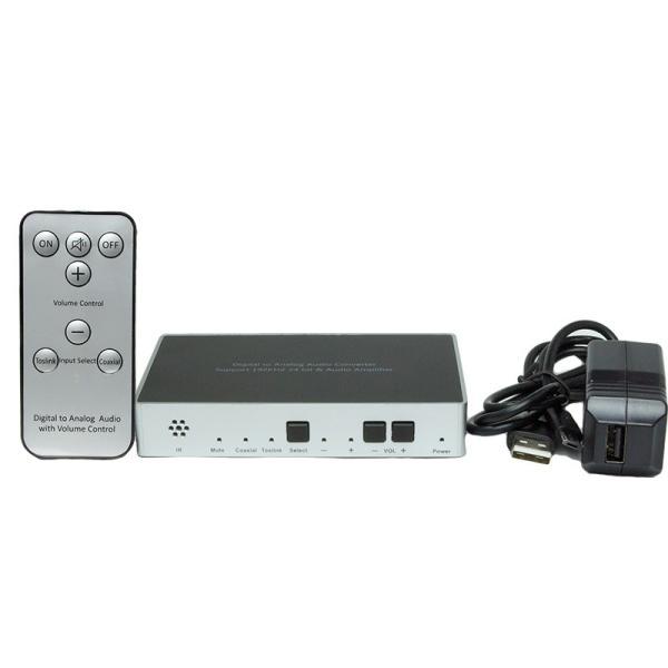 Amulech オリジナル  AL192-1C1ODAC  192kHz/24bit対応、光/同軸デジタル入力、電子ボリューム採用のプリアンプおよびヘッドホンアンプを搭載のDAコンバーター|coneypoint-store|04