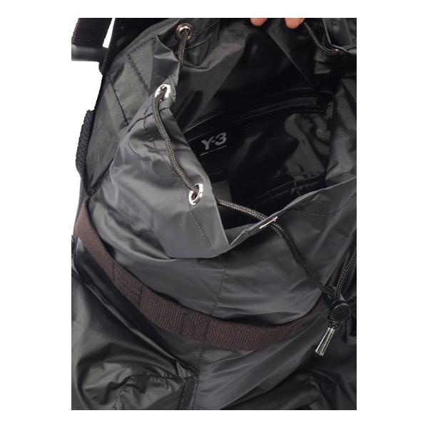 2019ss Y-3 ワイスリー YOHJI YAMAMOTO DY0512 - Y-3 XS Utility Bag バッグ リュック ブラック ADIDAS アディダス ヨウジヤマモト 正規取扱店