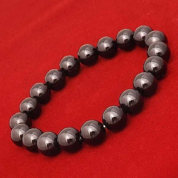 ブラックアゲート パワーストーン 天然石 ブレスレット メンズ レディース シンプル ブランド おすすめ 人気 送料無料
