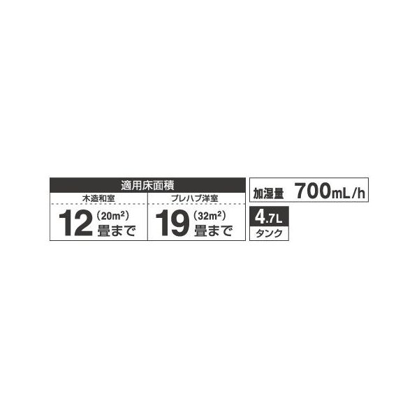 HD-7018 ダイニチ 加湿器 木造和室12畳まで・プレハブ洋室19畳まで