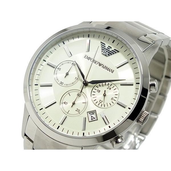 エンポリオアルマーニ 腕時計 クロノグラフ AR2458 connection-s