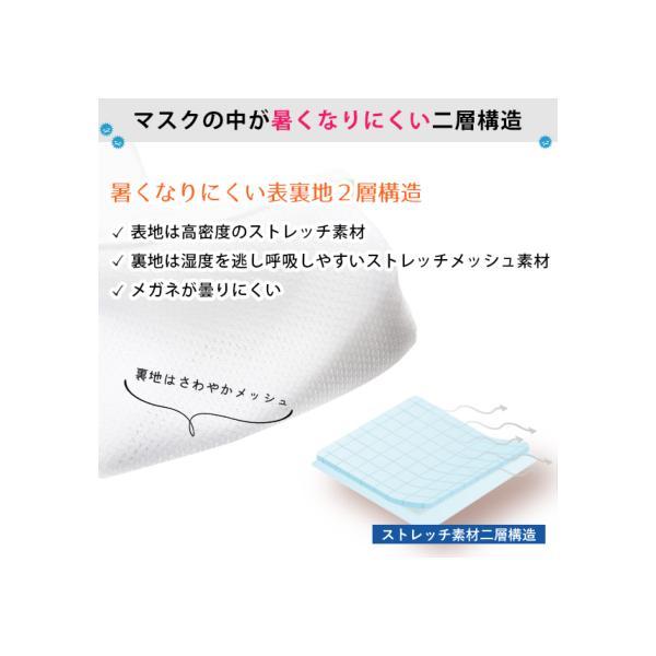 マスク 日本製 抗ウイルス 洗える 洗濯30回も抗菌・抗ウイルス効果が続く科学のマスク CONOMi 布マスク 涼しい 布マスク  夏 マスク 3-5営業日以内に配送|conomi|10