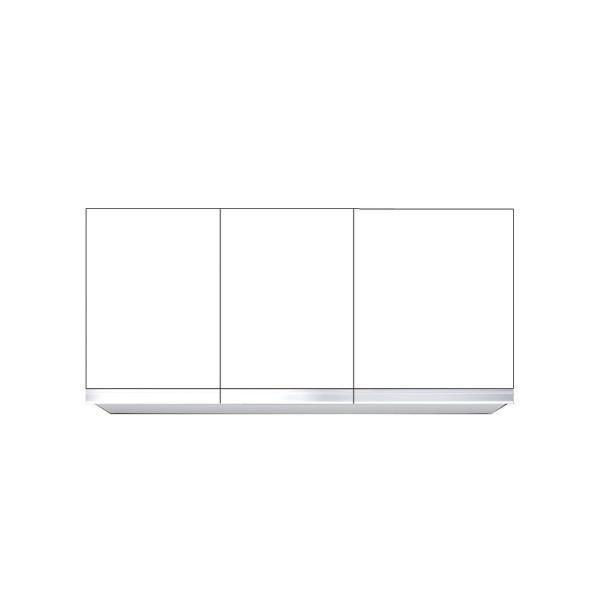 直送品マイセット単体キッチンS4吊り戸棚標準仕様間口110cm S4-110NT** 高さ45cmタイプ道幅4m未満配送不可