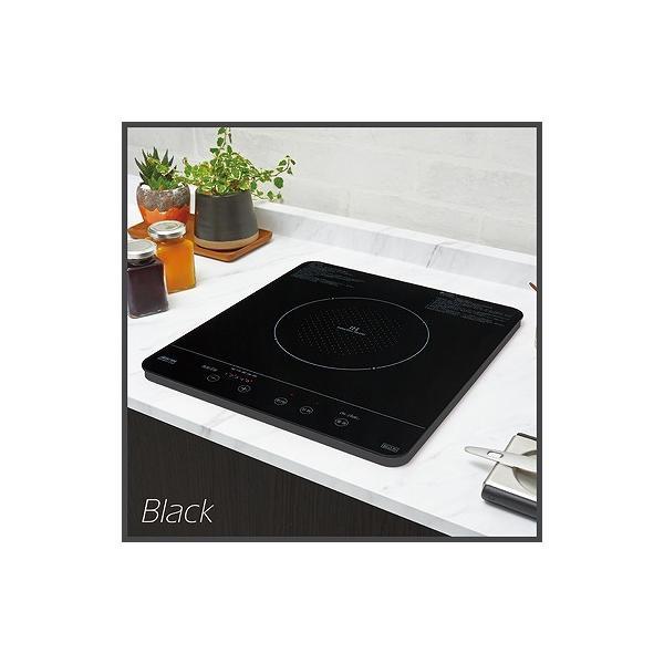 三化工業IHクッキングヒーター1口タイプ100V SIH-BH113B カラー:ブラック(SIH-B113B後継品)あすつく