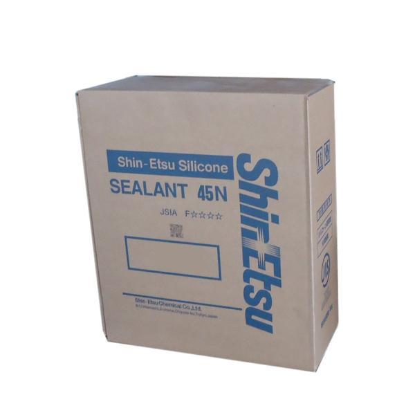 シーラント45N ブラック 330ml×10本 信越化学 JIS品 シリコンコーキング|const