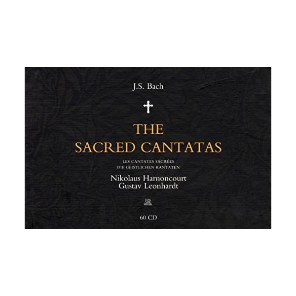J.S. Bach: The Sacred Cantatas [CD] J.S. Bach、 Nikolaus Harnoncourt; Gustav Leonhardt
