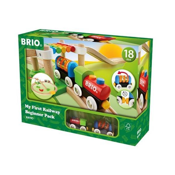 BRIO (ブリオ) WORLD レールウェイ マイファースト ビギナーセット 33727|cony