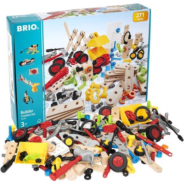 BRIO (ブリオ) WORLD ビルダー クリエイティブセット [ 工具遊び おもちゃ ] 34589 cony