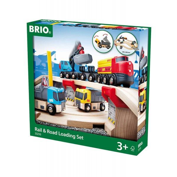 BRIO (ブリオ) WORLD  レール&ロード採石セット 32ピース 33210|cony