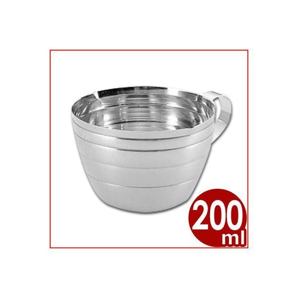 S印 ステンレス計量カップ 200cc No.171 料理 お菓子 水 粉 液体 計測 はかり シンプル 定番