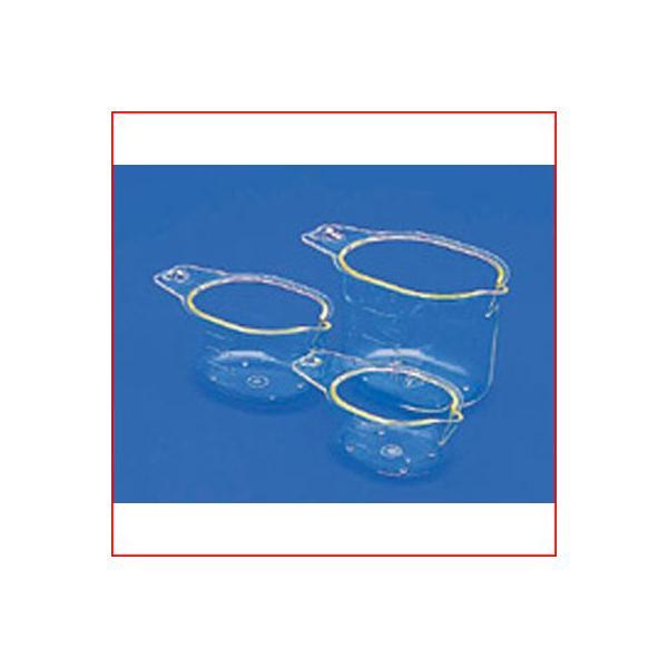 蝶プラ 計量カップ 3個セット 50・100・200ml  料理 お菓子 水 粉 液体 計測 はかり シンプル