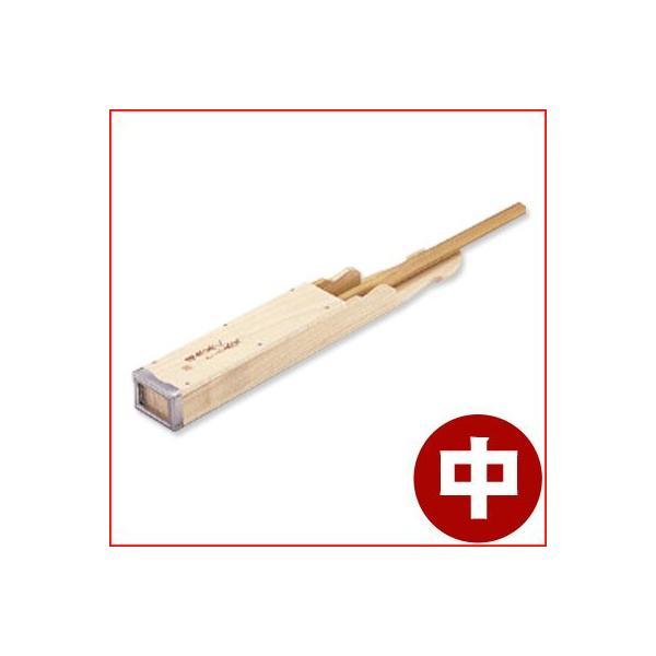 木製天突 健康美人 針金刃  中 02005 ところてん押し出し器 天つき トコロテン