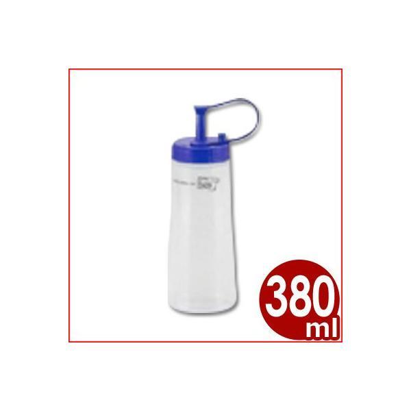 プルー ドレッシングキーパー Lサイズ 380ml ブルー 調味料入れ ケチャップ、粘体のソースなどにもおすすめ