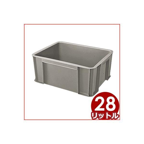 セキスイ ボックスコンテナ T-28 グレー 48×38×深さ20.5cm 28リットル 箱 入れ物 容器 ケース 収納