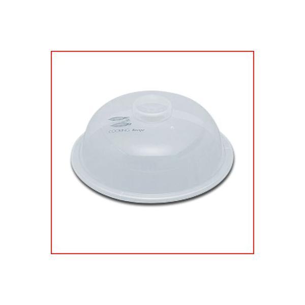 レンジ加熱用プラスチックカバーラップレスNo.1Φ102mmふた《メーカー取寄返品不可》