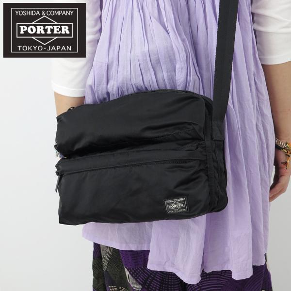 Yoshida Bag PORTER FRAME SHOULDER BAG 690-17848 Navy Made in Japan New