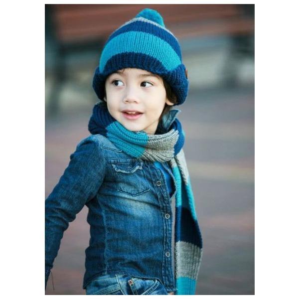 子供 ニット帽 マフラーセット 男の子 キッズ KIDS ベビー 子ども キャップ ニットキャップ 帽子 冬 防寒 かわいい|coollife|03