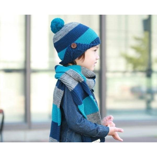 子供 ニット帽 マフラーセット 男の子 キッズ KIDS ベビー 子ども キャップ ニットキャップ 帽子 冬 防寒 かわいい|coollife|04