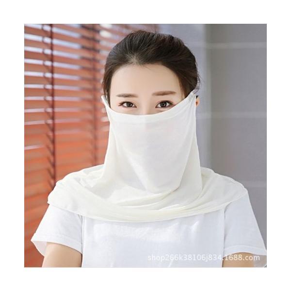 フェイスマスク UV日焼け防止 紫外線対策 coollife 08