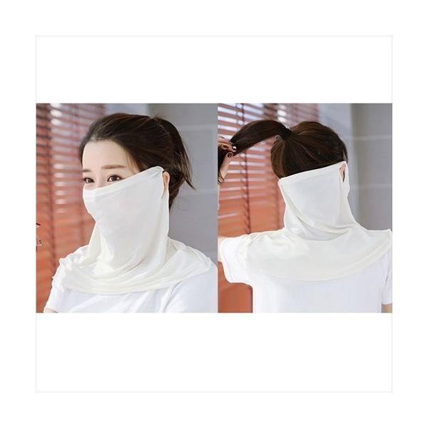 フェイスマスク UV日焼け防止 紫外線対策 coollife 09