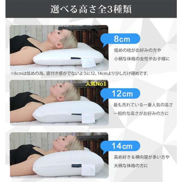 枕 まくら 肩こり ブルーブラッド ギフト 快眠 3D体感ピロー BlueBlood  ビートップス ポシュレ|coolzon|03
